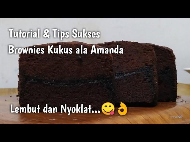 Tips Sukses Brownies Kukus yang Nyoklat dan Lembut 👍