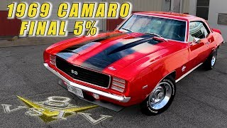 1969 Chevrolet Camaro Restoration RS SS 454 Video [feature] at V8 Speed & Resto Shop