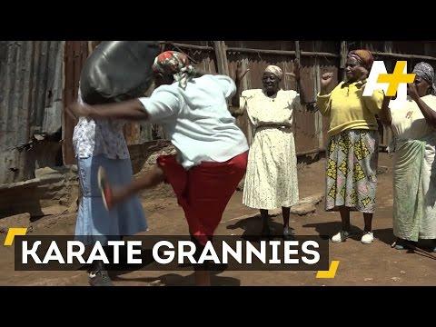 Kenya's Karate Grannies Master Self-Defense