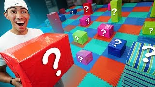 NERF Mystery Box Board Game Challenge