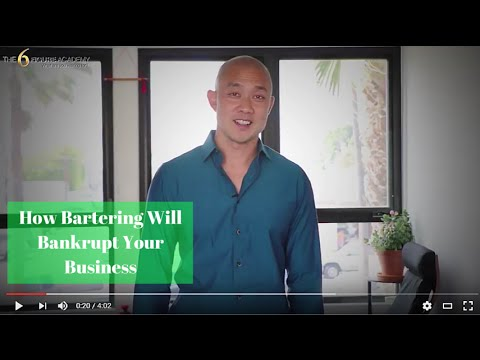 How Bartering Will Bankrupt Your Business