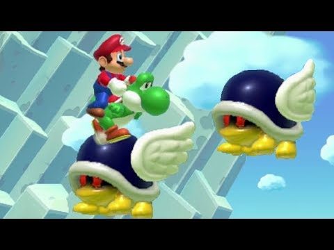 Super Mario Maker - 100 Mario Challenge #183 (Expert Difficulty)