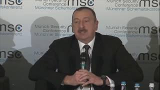 İlham Əliyev erməni diplomatına cavab verir...