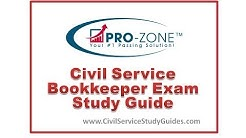 Civil Service Bookkeeper Exam Study Guide