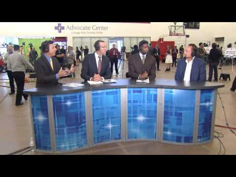 Gar Forman joins CSN panel during Bulls Media Day