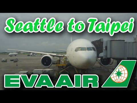 EVA Air BR25 Trip Report (Economy Class) from Seattle to Taipei, Taiwan