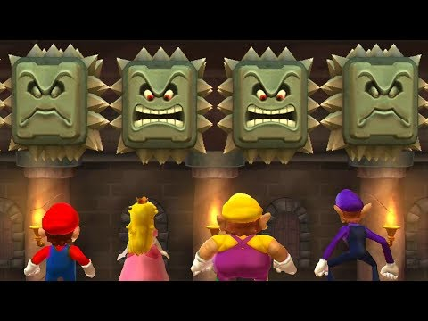 Mario Party 9 - All Dangerous Minigames