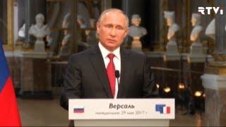 Путин и Макрон обсудили санкции, Сирию и права геев в Чечне
