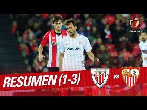 Resumen de Athletic Club vs Sevilla FC (1-3)