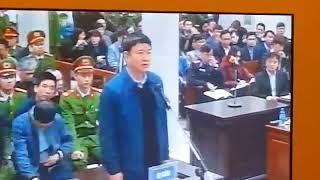 Ông Đinh La Thăng nói gì trước tòa?