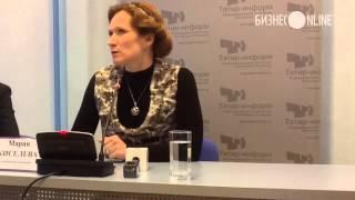Мария Киселева привезла в Казань шоу