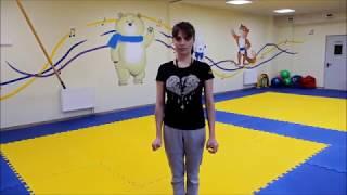 Открытый урок по физической культуре в 1 классе// Счастливое детство// Краснодар