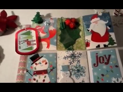 Pocket Letter share & Shout-out to Maria Cisneros Toth Christmas themed