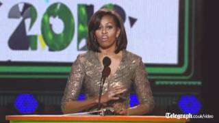 Michelle Obama honours Taylor Swift with Big Help award