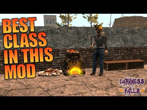 BEST CLASS IN THIS MOD | Darkness Falls MOD 7 Days to Die | Let's Play Gameplay Alpha 16 | S01E03