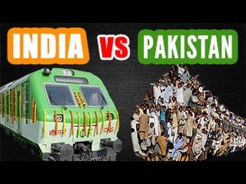indian railways vs pakistan railways
