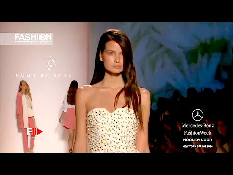 NOON BY NOOR  Spring 2014 New York - Fashion Channel