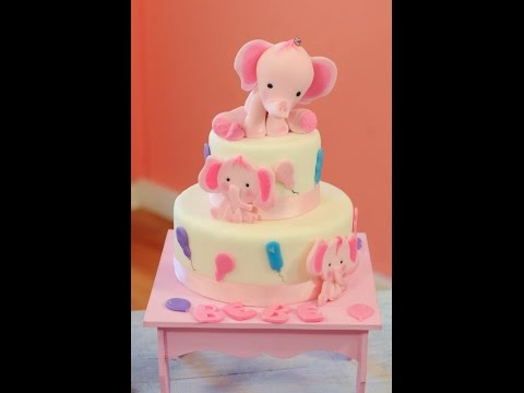 Torta para baby shower o primer año