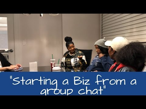 "Biz talks | ""Starting a business from a group chat"" 