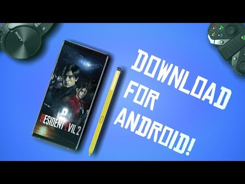 How To Download Resident Evil 2 Mobile Game!!
