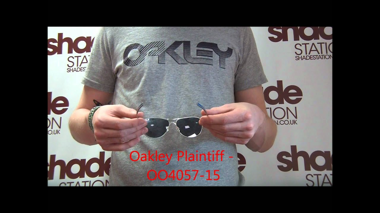 dd1933a48f Oakley Yuvraj Singh Signature Series Plaintiff Sunglasses Review - OO4057-15