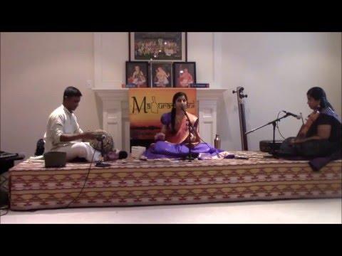 Maduradhvani Toronto 2016 series - Concert # 3 by Kum Abira Jeyakumar   Mar 12, 2016