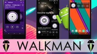Reproductor Walkman Para Cualquier Dispositivo Android || AndroidStudios