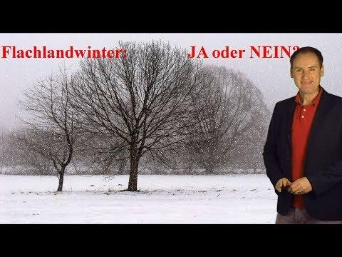 Flachlandwinter in der nächsten Woche: JA oder NEIN? Schnee und Frost für alle? (Mod.: Dominik Jung)