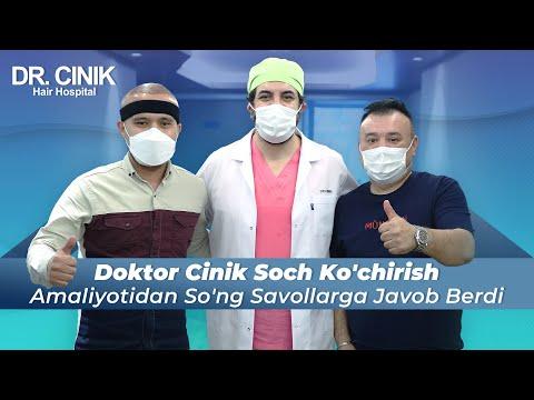 DR.CINIK Soch shifoxonasida sochlarni ko'chirib o'tkazish operatsiyasidan so'ng | chotki tv