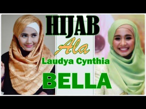Tutorial Hijab Pashmina Praktis Ala Laudya Cynthia Bella 72 Youtube