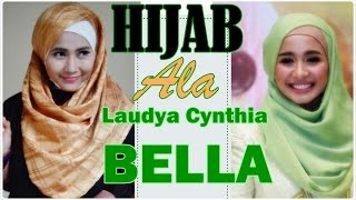 Tutorial Hijab Pashmina Praktis Ala Laudya Cynthia Bella #72