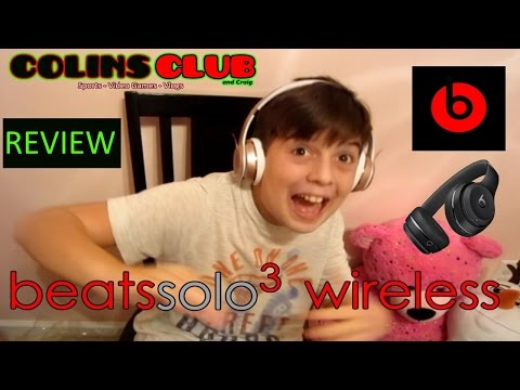 Unboxing - Solo3 Wireless Beats Review - ColinsClub