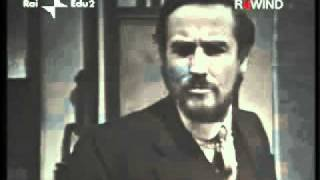 Luigi Pirandello - L'Uomo dal Fiore in Bocca - Vittorio Gassman 1970