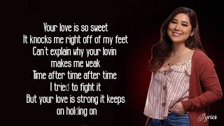 """MOIRA DELA TORRE - """"Weak"""" (SWV Cover) Lyrics"""