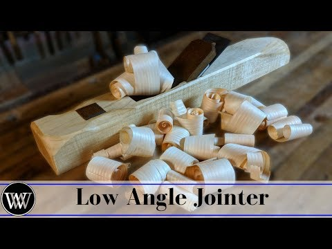 How to Make Low Angle Hand Plane : Bevel down Jointer Plane