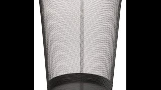 Review:  AmazonBasics Mesh Wastebasket