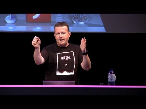 Lee Brimelow on Flash Gaming at Adobe CS6 Launch Amsterdam