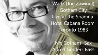 Boogie Woogie Waltz  Gotham City Cabana room Spadina Hotel Toronto 1983 mp3