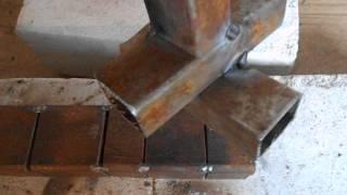 Сварка профильных труб (нижнее положение)(Welding profile pipe.В этой серии видео будем варить профильные трубы в нижнем положении., 2015-03-13T05:34:48.000Z)