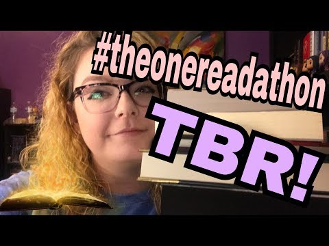 THE ONE TO RULE THEM ALL READATHON TBR!