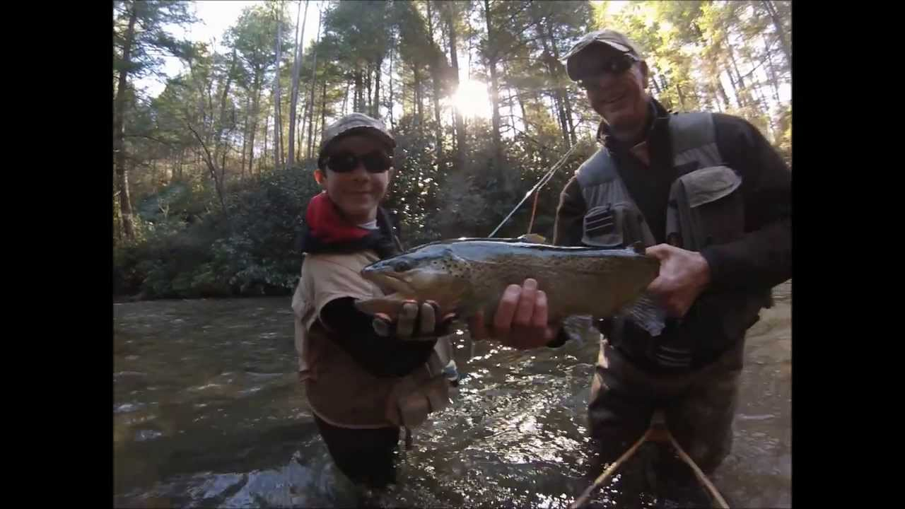 Trophy trout fly fishing on the soque river blackhawk for Blackhawk fly fishing