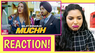 South Indian Reacts to MUCHH - Diljit Dosanjh | The Boss| Kaptaan | Latest Punjabi songs 2019