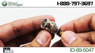 Ideal Industries 89-5047 BNC Connectors Video