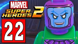 LEGO Marvel Super Heroes 2 Walkthrough Part 22 LEVEL OUT OF TIME / FINAL BOSS KANG