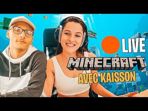 🔴 Live  -   On débute l'aventure sur MINECRAFT ! Serveur des djums avec Kaisson