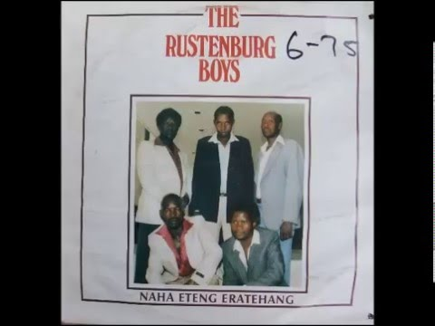 the rustenburg boys --- re rata he reka bona