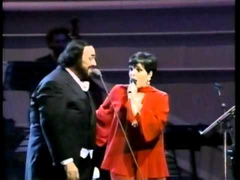 Luciano Pavarotti e Liza Minnelli - New York, New York