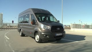 Ford Transit 2014 Busversion - Premiere in Barcelona - BKF TV vor Ort in Barcelona