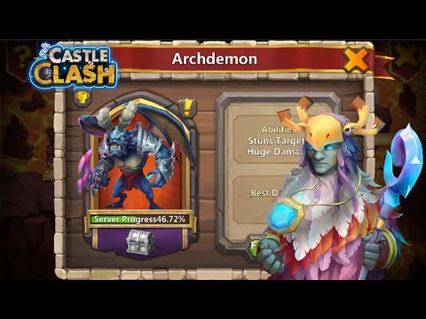 Castle Clash: Best 6 Heroes For Castle Crisis Archdemon!