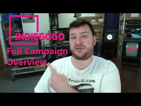 Video Game Hardware Presentation - Full Indiegogo Overview
